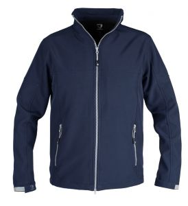 KURTKA SOFTSHELL ACTION Junior Blue