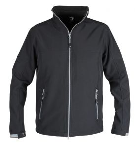 KURTKA SOFTSHELL ACTION Black