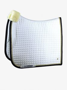 Czaprak PS of Sweden Dressage White/navy