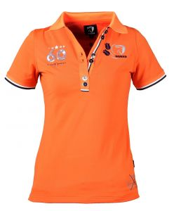 koszulka polo jersey ORANGE