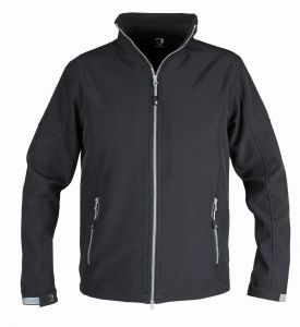 KURTKA SOFTSHELL ACTION Junior Black